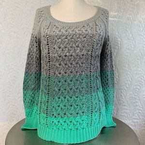 American Eagle Ombré Sweater-Medium